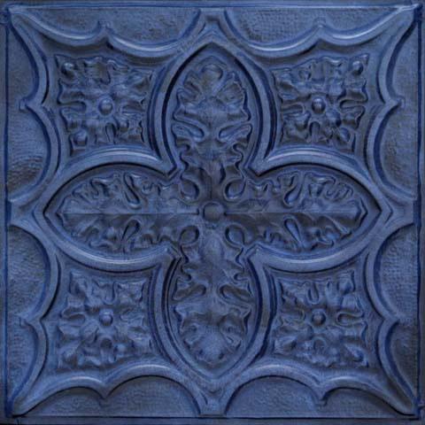 Acantus Leaf Aluminum Backsplash Tile 2432