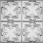 1202DD Tin Ceiling Tile DETAILED FLEUR-DE-LIS