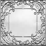 2406 Tin Ceiling Tile - Classic Queen Anne Lace