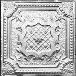 2421 Tin Ceiling Tile – Classic Elizabethan Shield