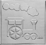 2480 Tin Headboard Tile -TOY TRAIN