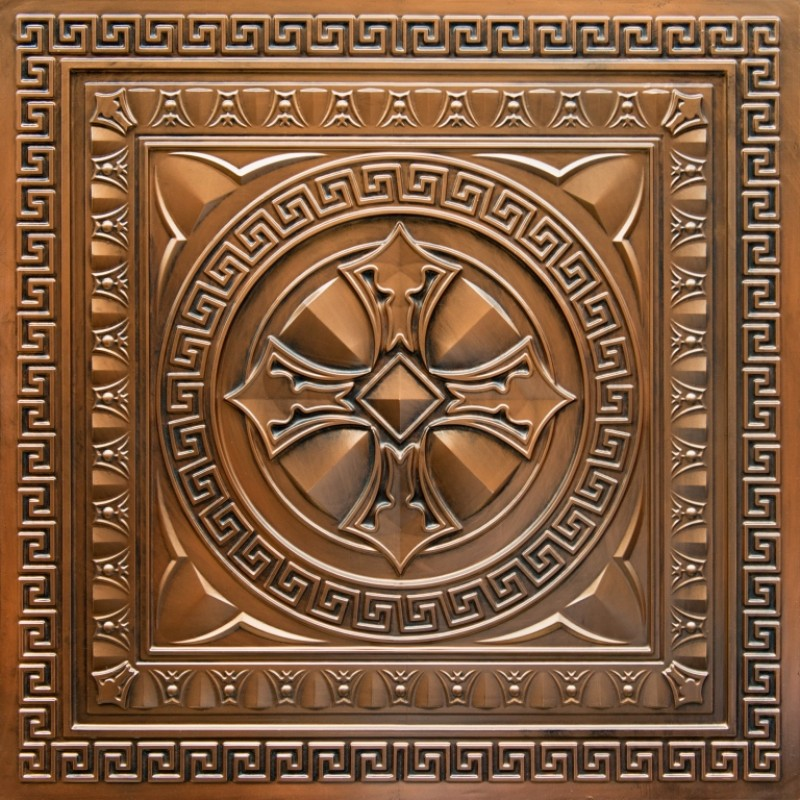 Faux Copper Ceiling Tiles Buy Online Decorative