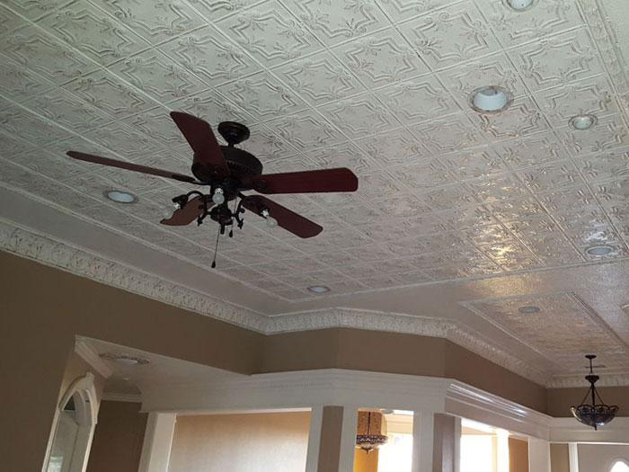 African Safari - Aluminum Ceiling Tile - 24x24 - #24004 - Mill Finish