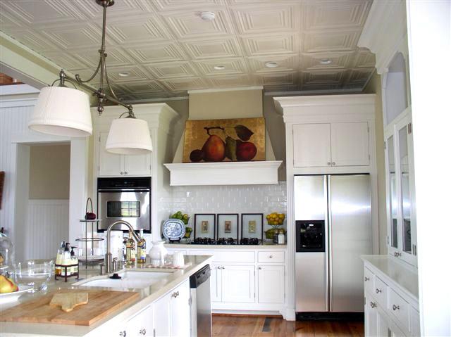 Edgerton Square – Aluminum Ceiling Tile – #2401 - White