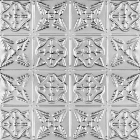 Counted Cross-stitch Decorative Tin Ceiling Tile
