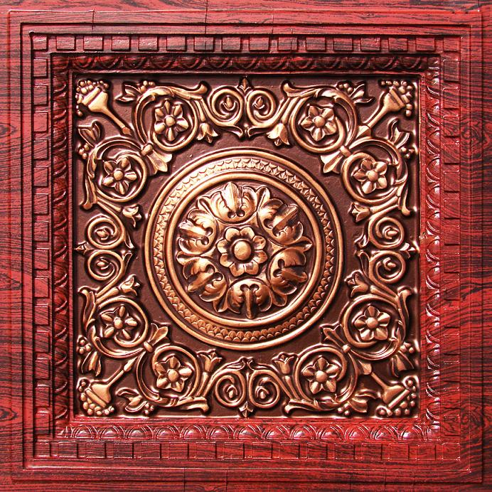VC02 Tile in Rosewood Antique Copper