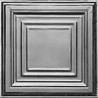 Simple but not plain is our Edgerton Tin ceiling tile.