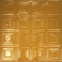 0601 Aluminum Ceiling Tile in Indian Spice finish and many other is available at www.decorativeceilingtiles.net