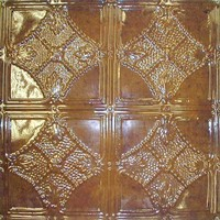 1208 Aluminum Ceiling Tile in Mahogany finish and many others is available at www.decorativeceilingtiles.net