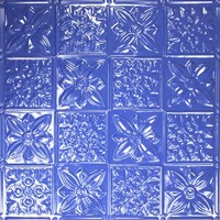 0612 Aluminum Ceiling Tile - Sapphire Finish and many other finishes is available at www.decorativeceilingtiles.net
