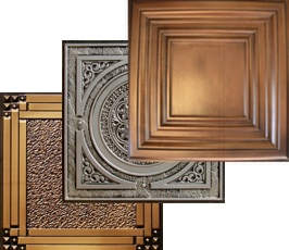 Category image for decorative drop ceiling tiles on www.decorativeceilingtiles.net