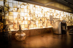 Lumisplash, TR 4in Golden Tiles + LuxCore