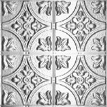 1204 Tin Ceiling Tile – Classic Elizabethan Shield