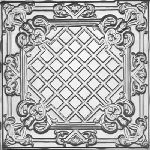Tin Magnet Seating Board Tile- 2412 Tin Ceiling Tile – Classic Casa Milano