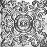 2416 Tin Ceiling Tile – Classic Caesar's Wreath