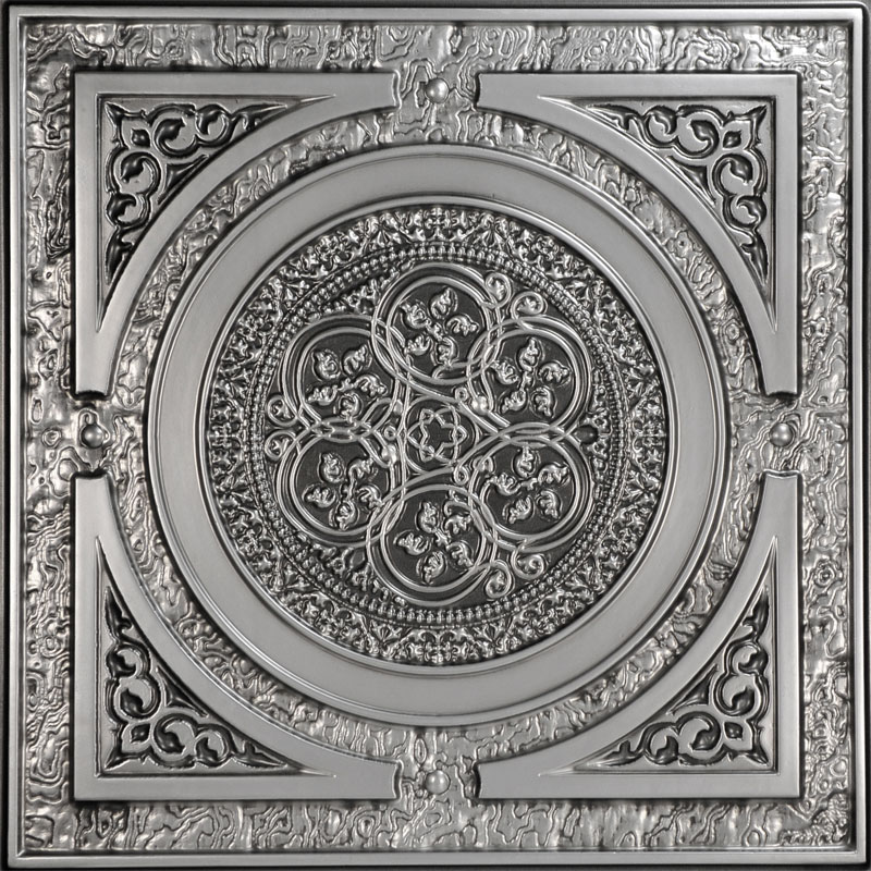 Steampunk - Faux Tin Ceiling Tile - 24 in x 24 in - #225
