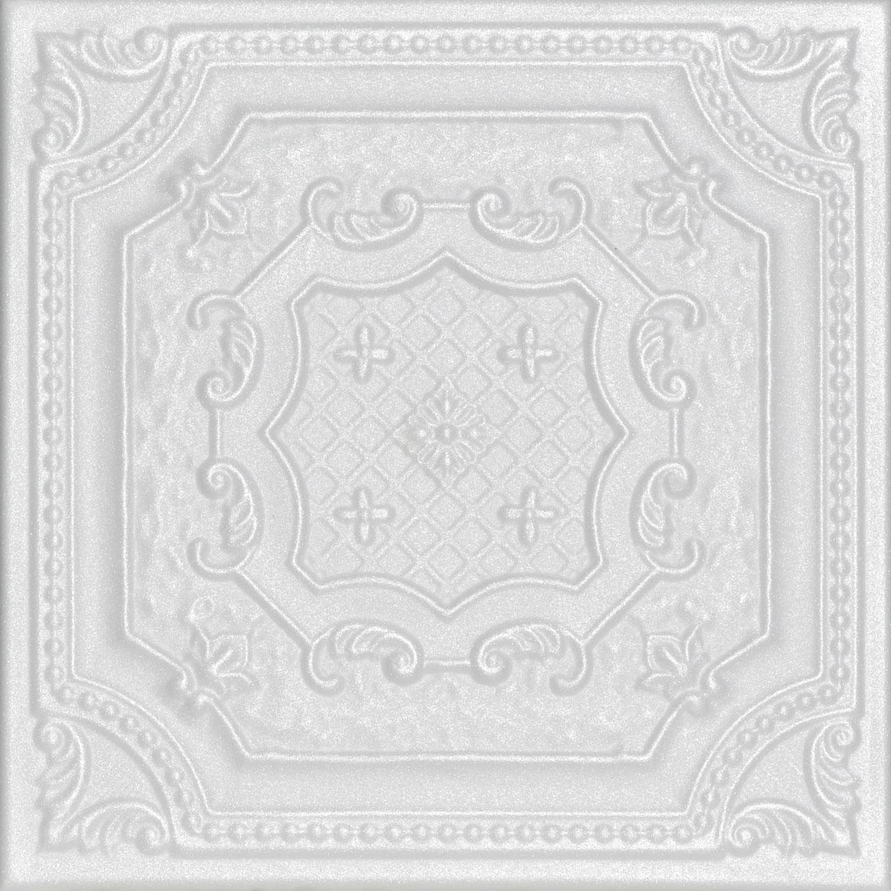Bijou and Bee Bee Glue-up Styrofoam Ceiling Tile 20 in x 20 in - #R126