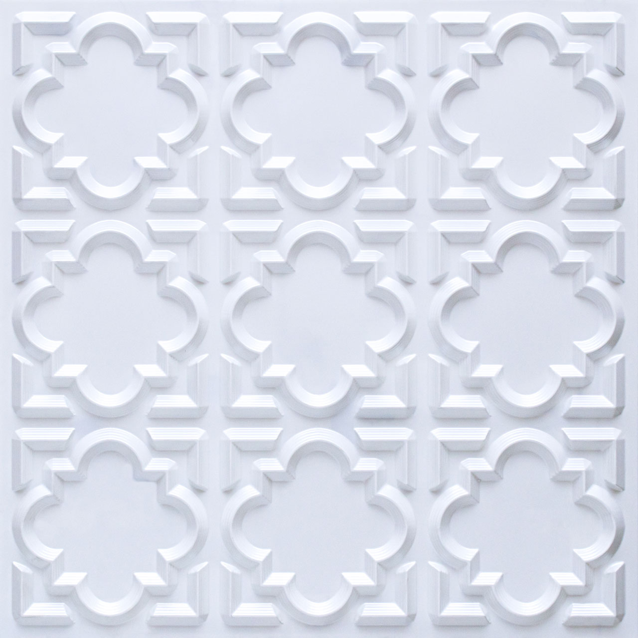 Casablanca - Faux Tin Ceiling Tile - Glue up - 24 in x 24 in - #142