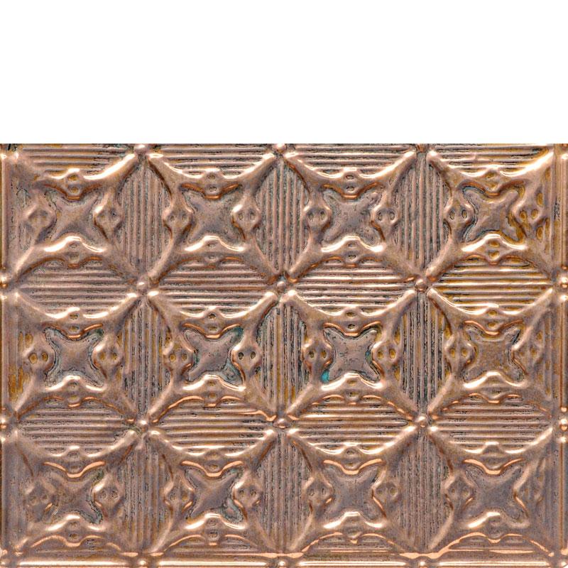 Optical Illusions - Copper Backsplash Tile - #0614