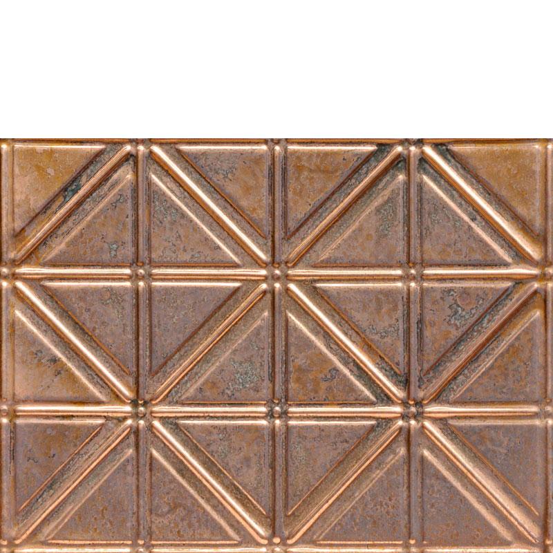 Jazz Age - Copper Backsplash Tile - #0606