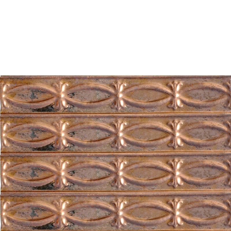 Ribbons - N - Bows - Copper Backsplash Tile - #0303