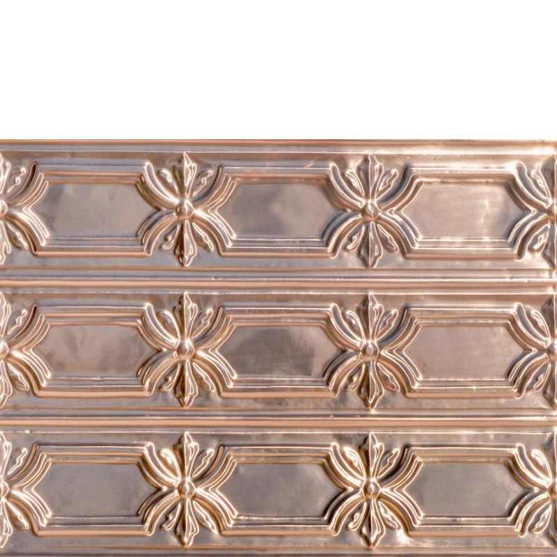Peppy Pom Pons - Copper Backsplash Tile - #0618