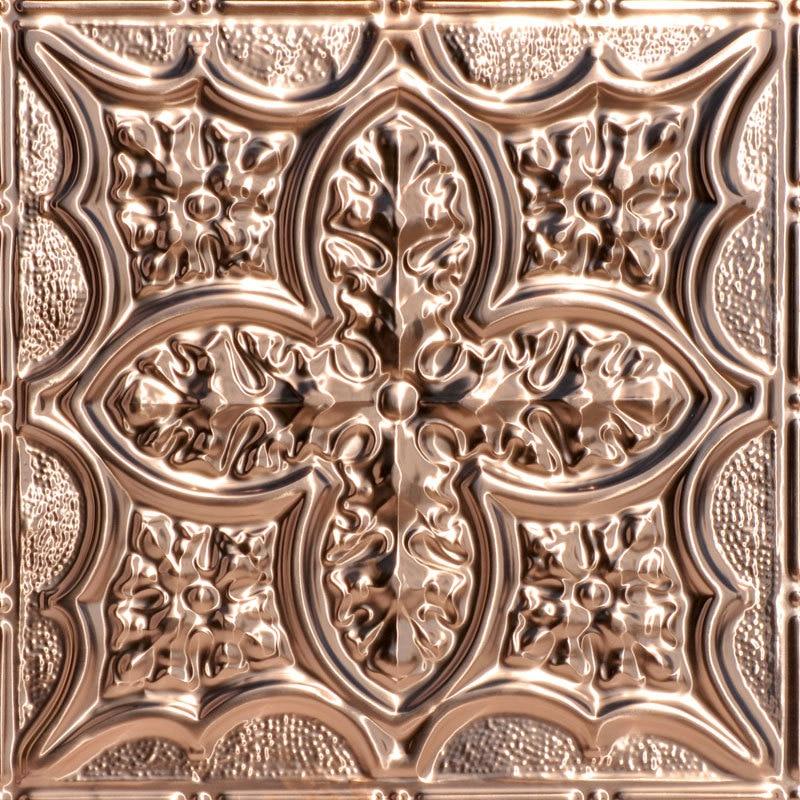 Renaissance Faire - Copper Ceiling Tile - 24 in x 24 in - #2428