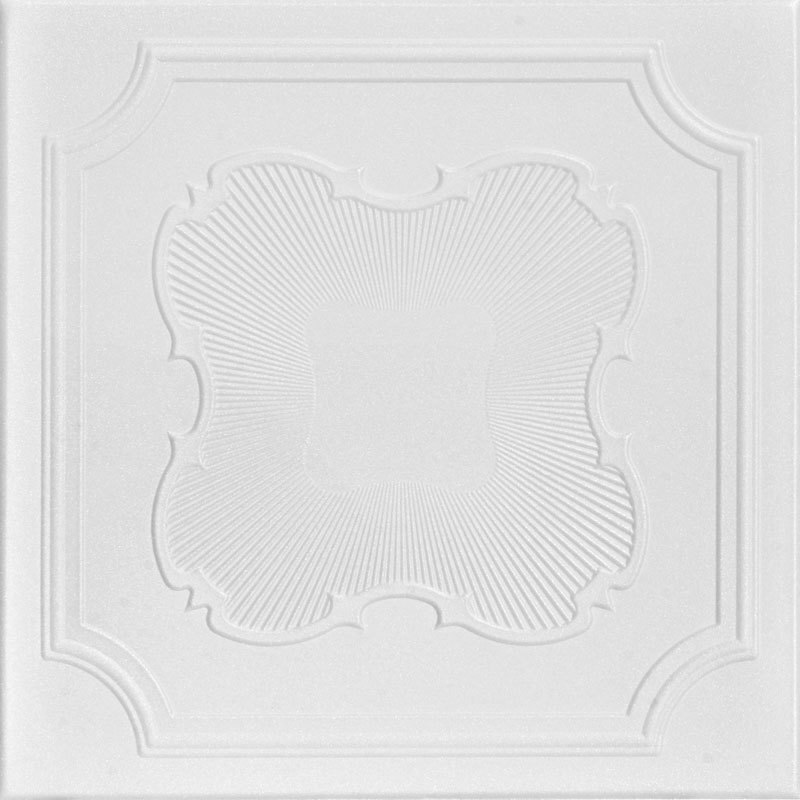 Coronado Glue-up Styrofoam Ceiling Tile 20 in x 20 in - #R74
