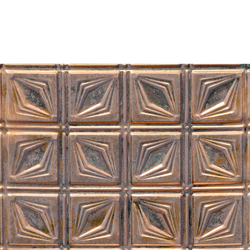 Prism - Copper Backsplash Tile - #0611