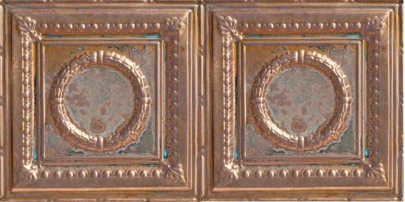 Romanesque - Copper Ceiling Tile - #2407