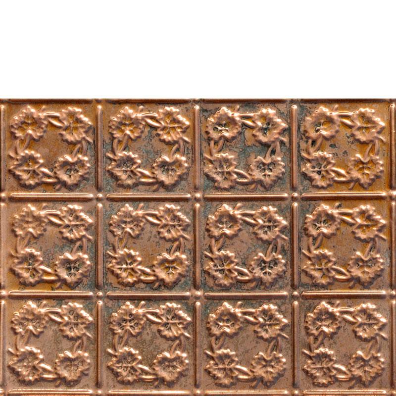 Autumn Leaves - Copper Backsplash Tile - #0608