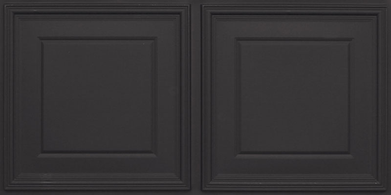 Banker's Hours - Faux Tin Ceiling Tile - 24 in x 24 in - #224