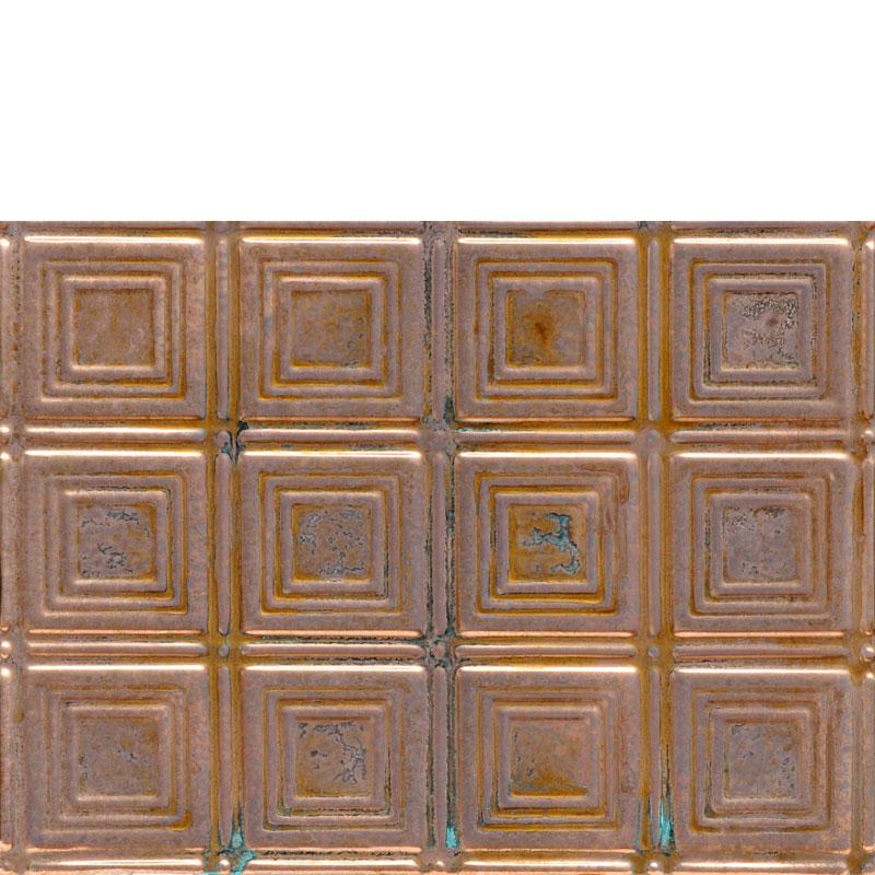 Times Square - Copper Backsplash Tile - #0601
