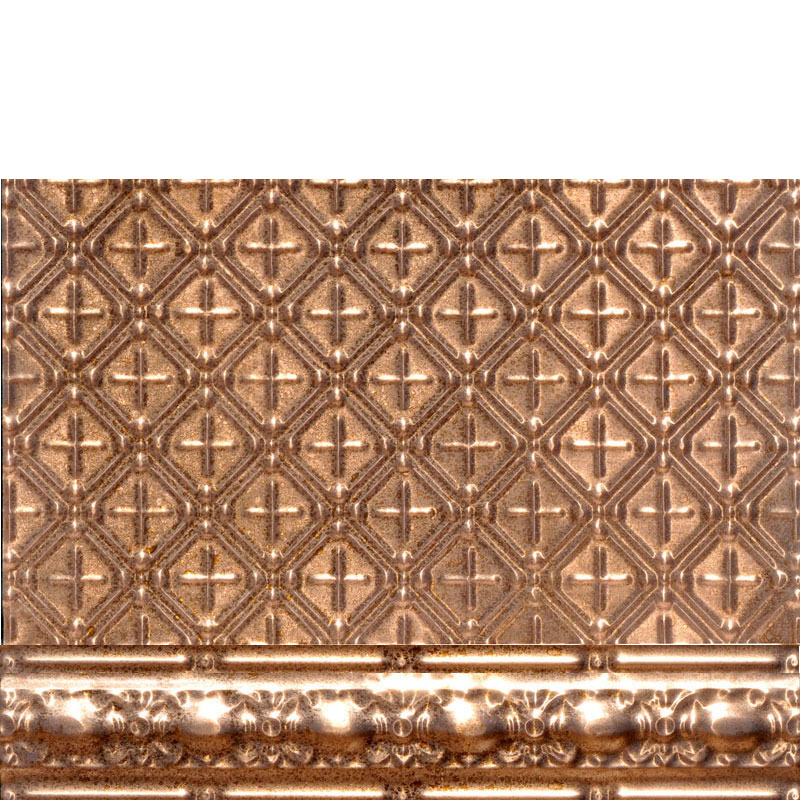 Antique Scarab - Copper Backsplash Tile - #2436