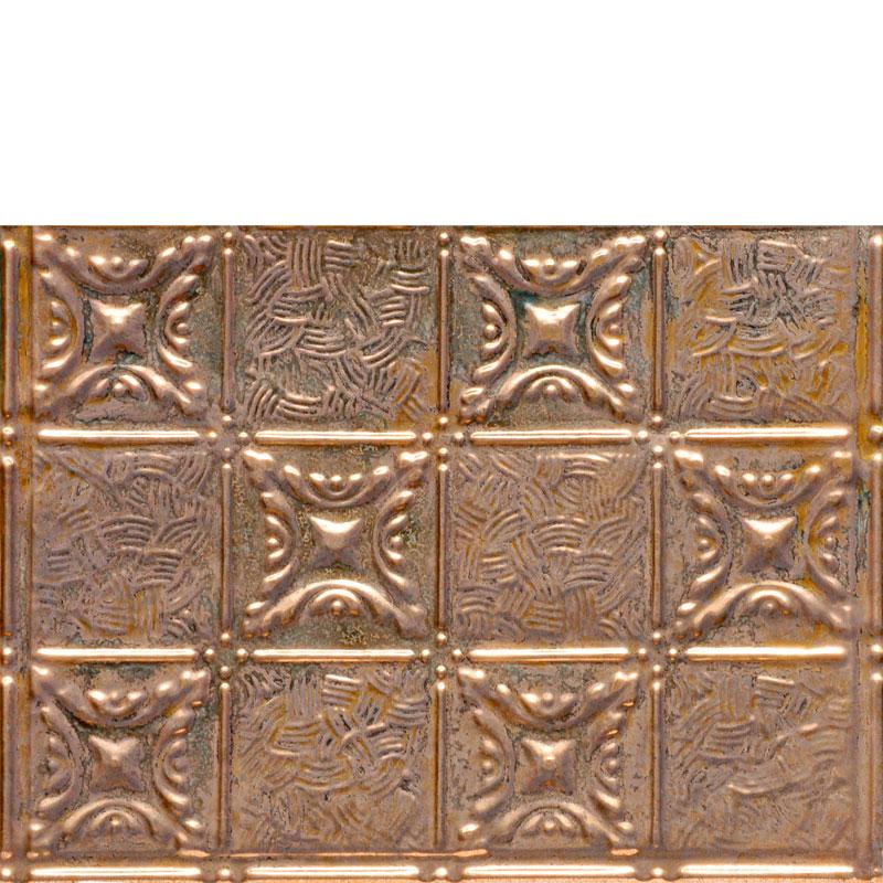 Grandma's Quilt - Copper Backsplash Tile - #0610