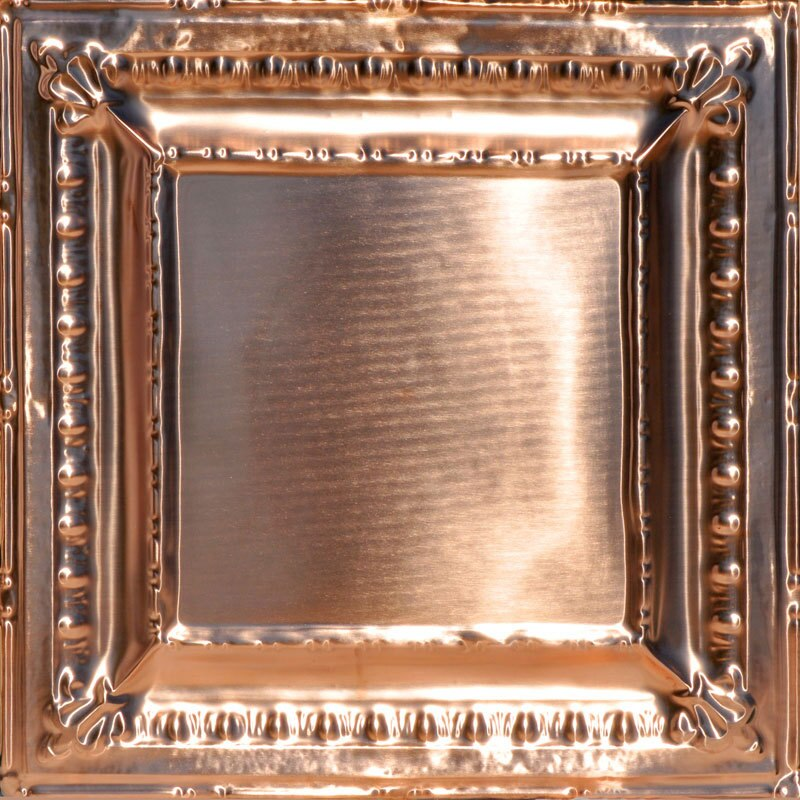 Old Farmhouse Favorite - Copper Ceiling Tile - 24 in x 24 in #2418