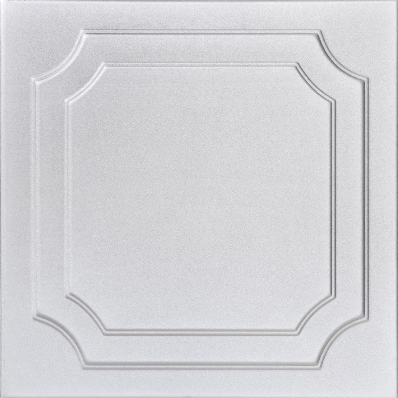 The Virginian Glue-up Styrofoam Ceiling Tile 20 in x 20 in - #R08
