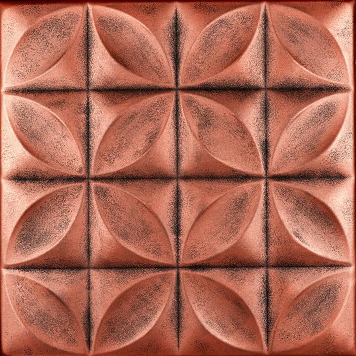 Perceptions Glue-up Styrofoam Ceiling Tile 20 in x 20 in - #R103
