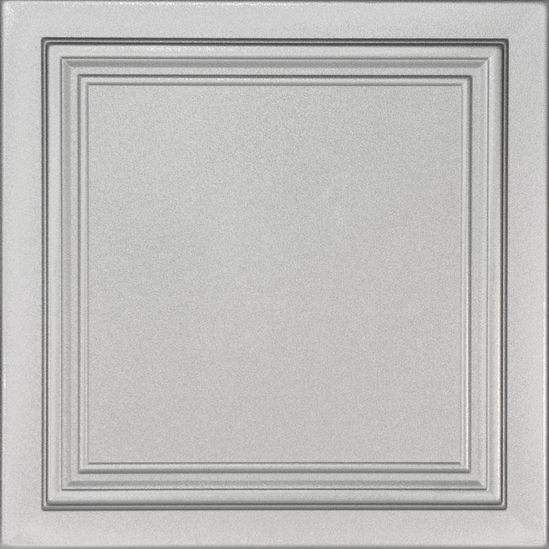 Line Art Glue-up Styrofoam Ceiling Tile 20 in x 20 in - #R 24