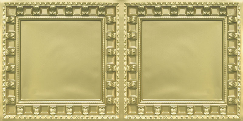 Parthenon - Faux Tin Ceiling Tiles - Drop In - 24 in x 24 in - #236