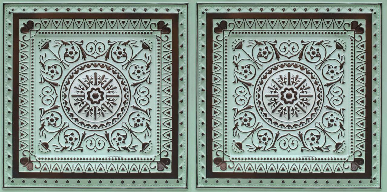 La Scala - Faux Tin Ceiling Tile - 24 in x 24 in - #223