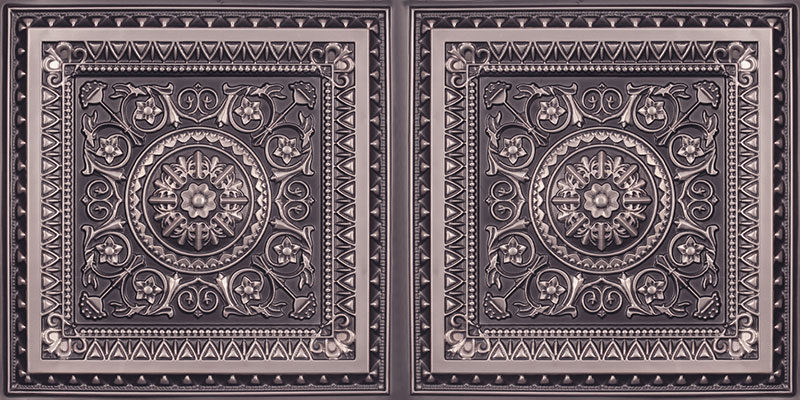 La Scala - Faux Tin Ceiling Tile - 24 in x 24 in - #223