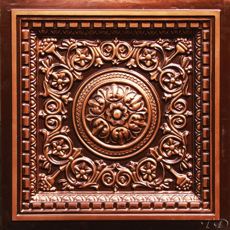 Antique Copper Ceiling Tiles