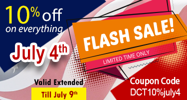 July 4th Flash Sale / 10% off on everything