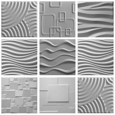 3 Full 3D Bamboo EcoTiles Sample Pack