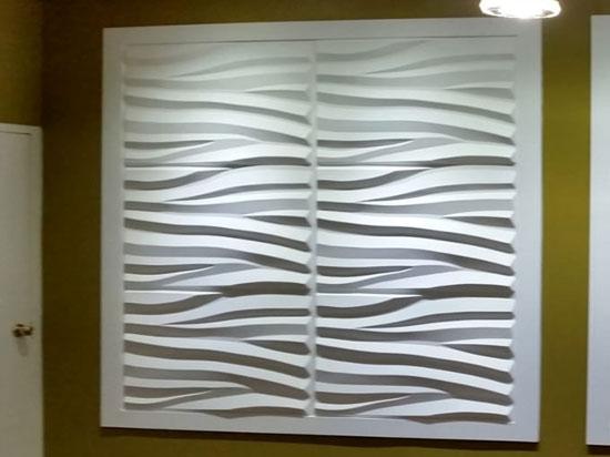 3D Wall Panels Bamboo Pulp 71