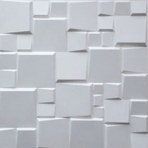 3d Bamboo - Wall Panels - #52 - Plain White