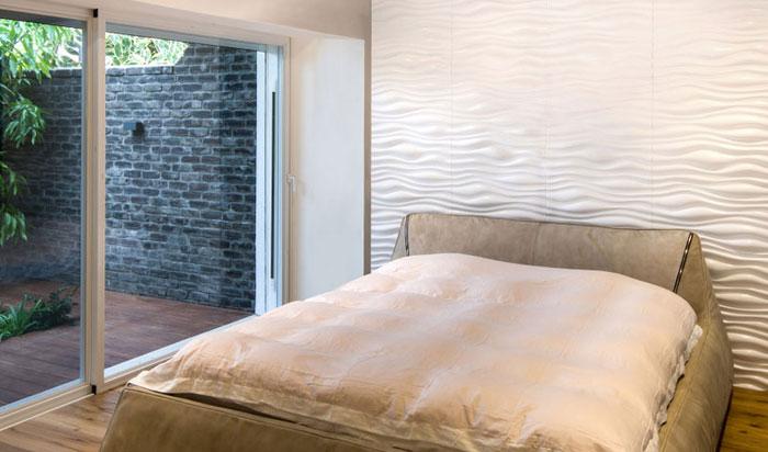 3d Bamboo - Wall Panels - #72 - Plain White