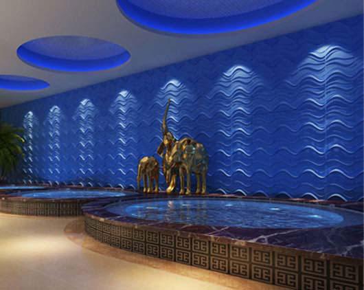 3D Wall Panels – Bamboo Pulp – #55 - Plain White