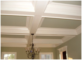 Add Beams to Your Ceilings